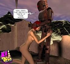 Sex attack of robots